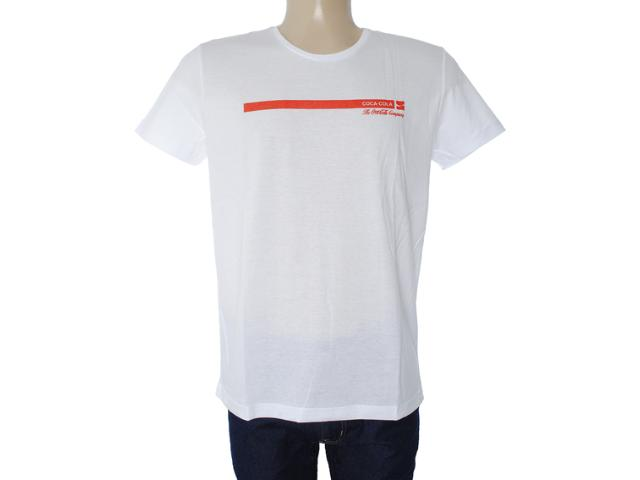 Camiseta Masculina Coca-cola Clothing 353203382 Branco