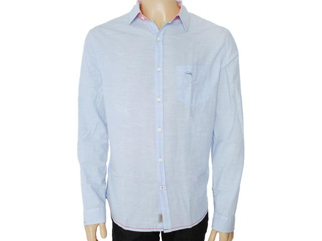 Camisa Masculina Index 07.01.000046 Azul Bebê
