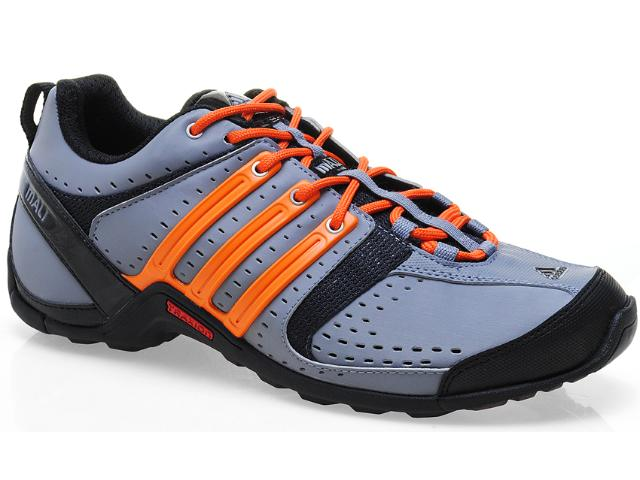 Tênis Masculino Adidas Q21261 Mali 10 Cinza/laranja