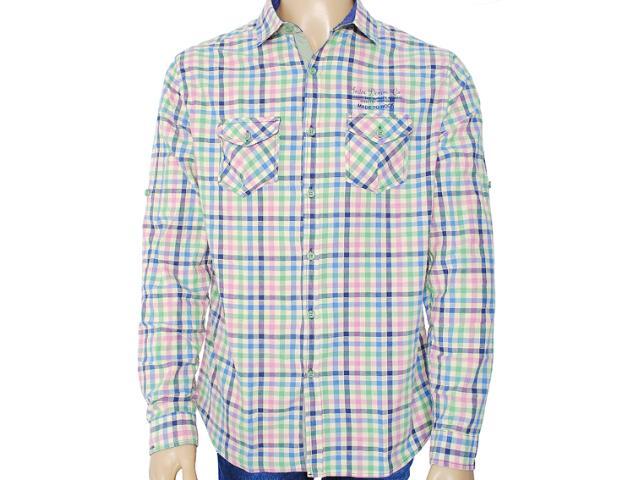 Camisa Masculina Index 07.01.000045 Xadrez