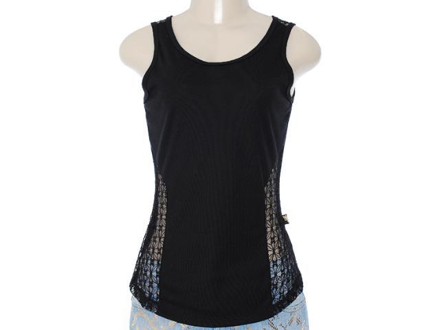 Regata Feminina Cavalera Clothing 09.01.2651 Preto