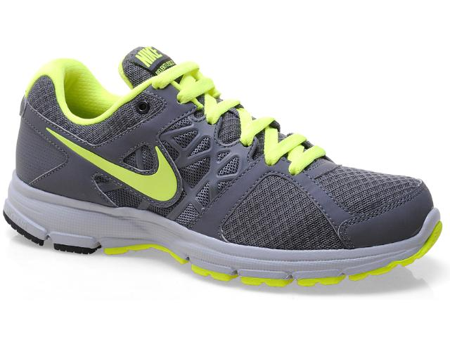 Tênis Masculino Nike 511915-014 Air Relentless 2 Msl Chumbo/verde