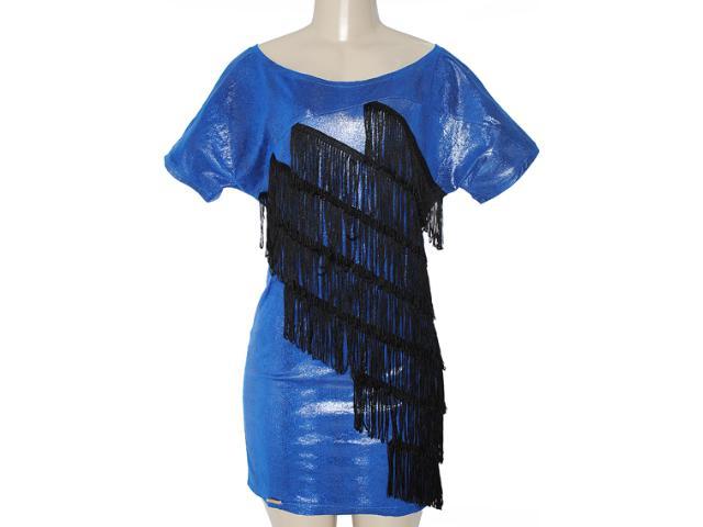 Vestido Feminino y Exx 18669 Azul Geada