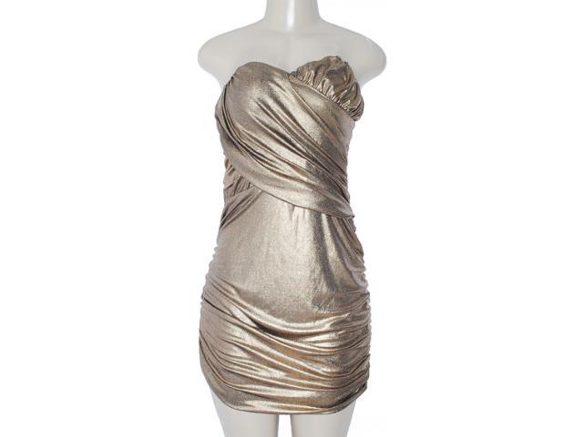 Vestido Feminino y Exx 18639 Dourado