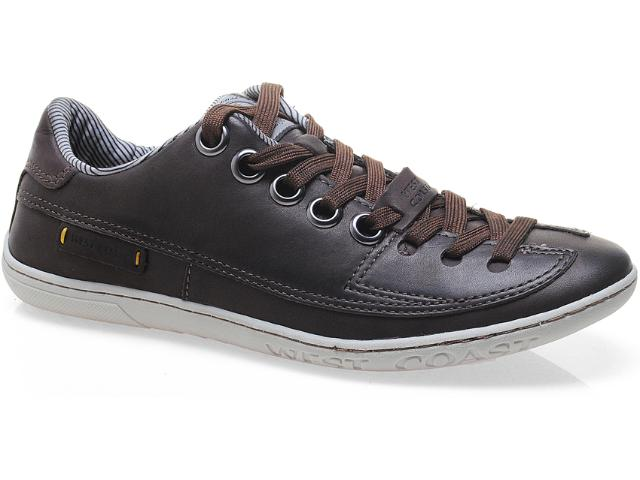 Sapatênis Masculino West Coast 110301/07 Brown