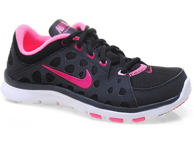 Tênis Feminino Nike 537509-006 Flex Supreme tr Preto/rosa