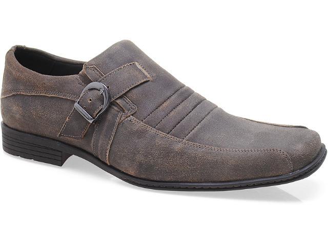 Sapato Masculino Ferracini 6368 Live Chocolate