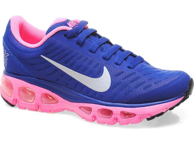 Tênis Feminino Nike 555415-406 Air Max Tailwind Roxo/rosa