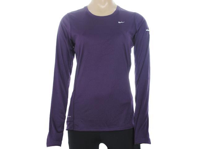 Camiseta Feminina Nike 519833-584 Miler Violeta