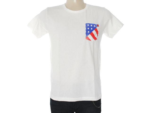 Camiseta Masculina Coca-cola Clothing 353203306 Off White