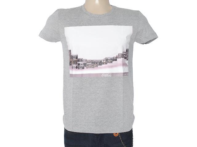 Camiseta Masculina Coca-cola Clothing 353203324 Mescla