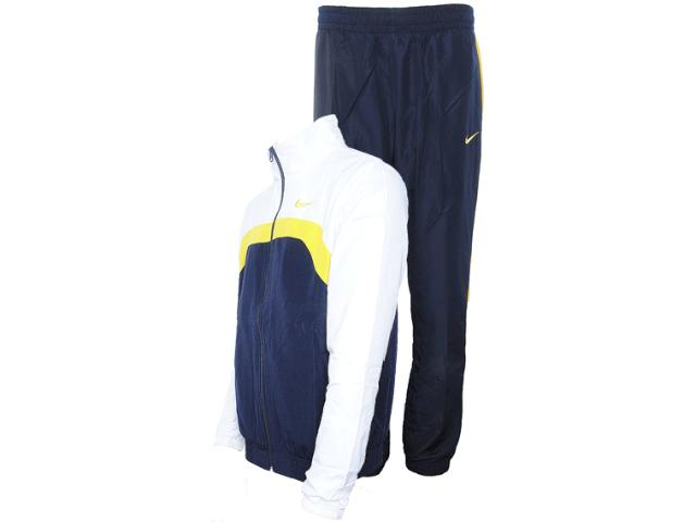 Abrigo Masculino Nike 521546-475 ad Woven Marinho/branco/amarelo