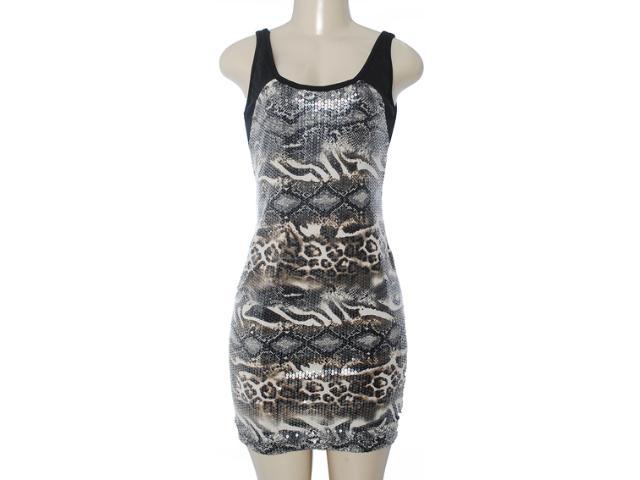 Vestido Feminino y Exx 18667 Preto