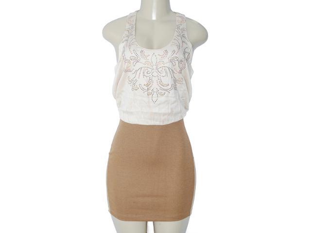 Vestido Feminino y Exx 18521 Bege Raposa