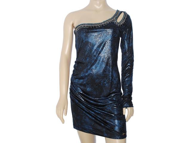 Vestido Feminino y Exx 18629 Azul Geada
