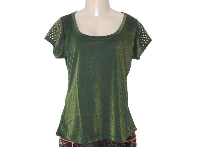 Blusa Feminina y Exx 18563 Verde
