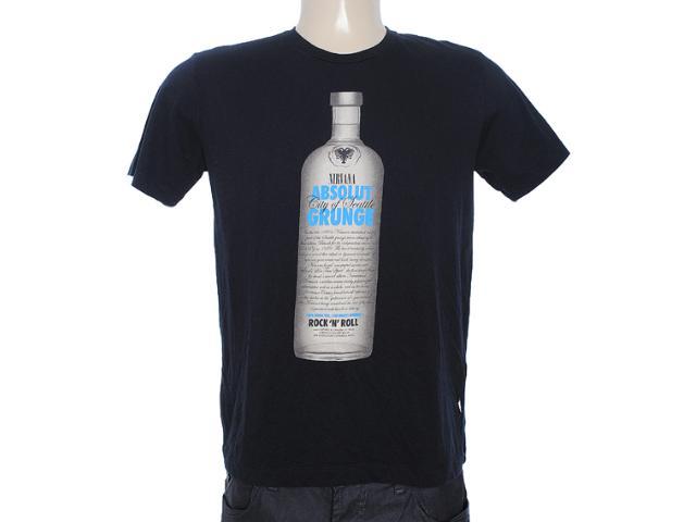 Camiseta Masculina Cavalera Clothing 01.01.6989 Preto