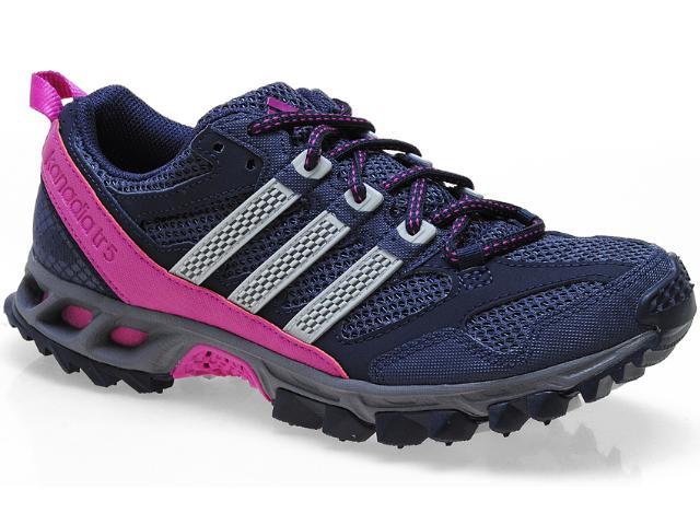 Tênis Feminino Adidas Q22381 Kanadia 5 tr w Marinho/pink