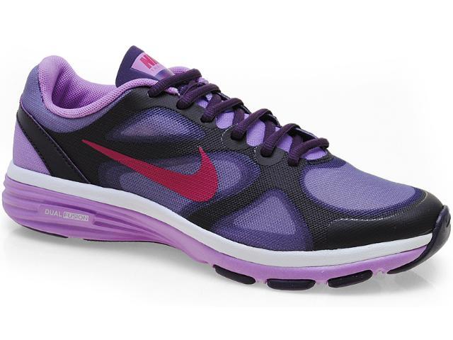 Tênis Feminino Nike 443837-500 Dual Fusion tr Lilas/roxo