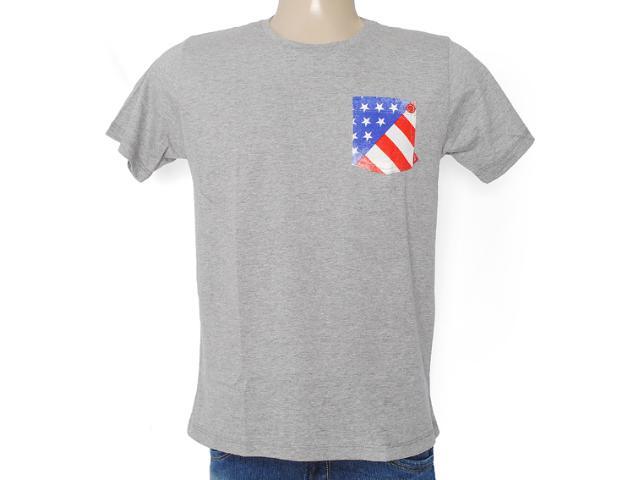 Camiseta Masculina Coca-cola Clothing 353203306 Mescla