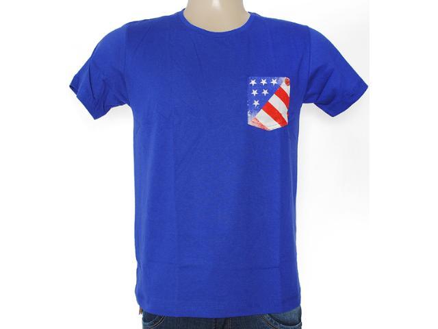 Camiseta Masculina Coca-cola Clothing 353203306 Azul