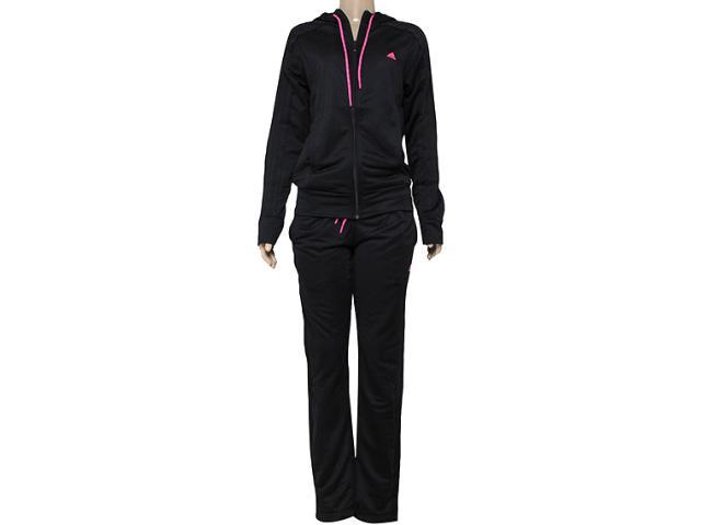Abrigo Feminino Adidas S20952 New Yong Knit w  Preto/rosa