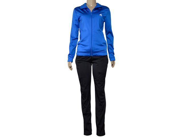 Abrigo Feminino Adidas Cv4704 Ess ep ts Azul/preto
