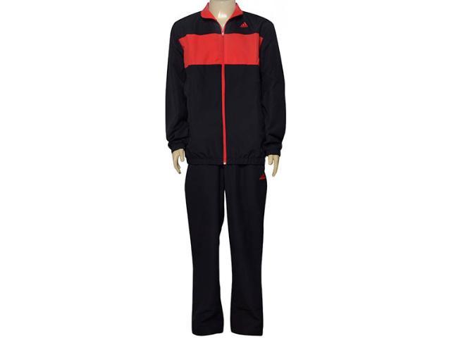Abrigo Masculino Adidas Ay8752 Mens wv ts Vermelho/preto
