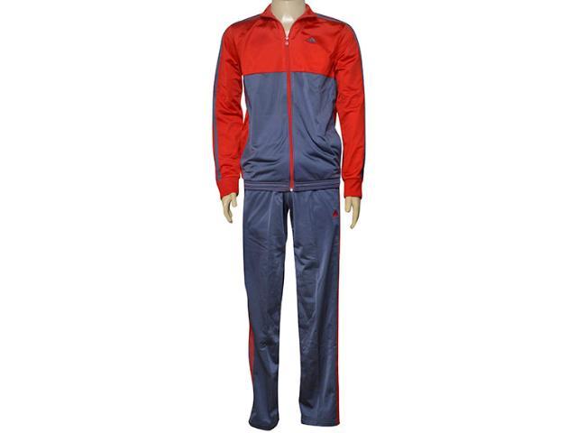 Abrigo Masculino Adidas Ay8754 Mens kn ts Vermelho/chumbo