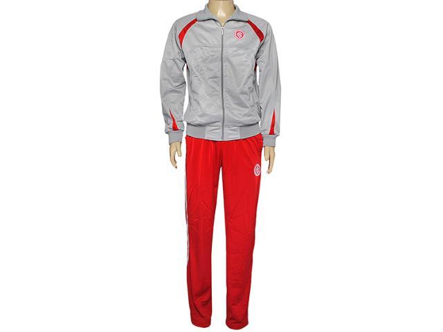 Abrigo Masculino Inter 73795 Cinza/vermelho