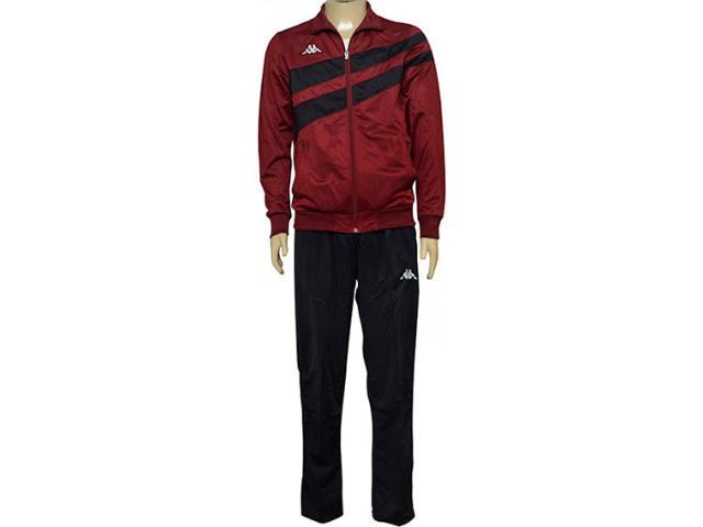 Abrigo Masculino Kappa 3215006 Stretto Bordo/preto