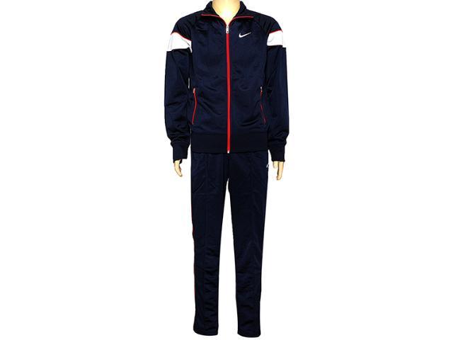 Abrigo Masculino Nike 607433-452 Hybrid wu Woven Were Marinho/vermelho