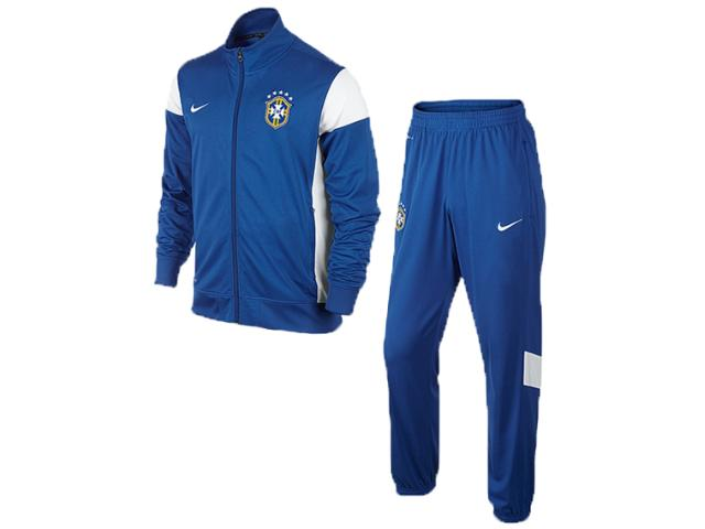Abrigo Masc Infantil Nike 575712-493 Cbf b Academy Knit Wup Azul