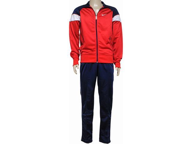 Abrigo Masculino Nike 607433-657 Hybrid wu Woven Were Vermelho/marinho