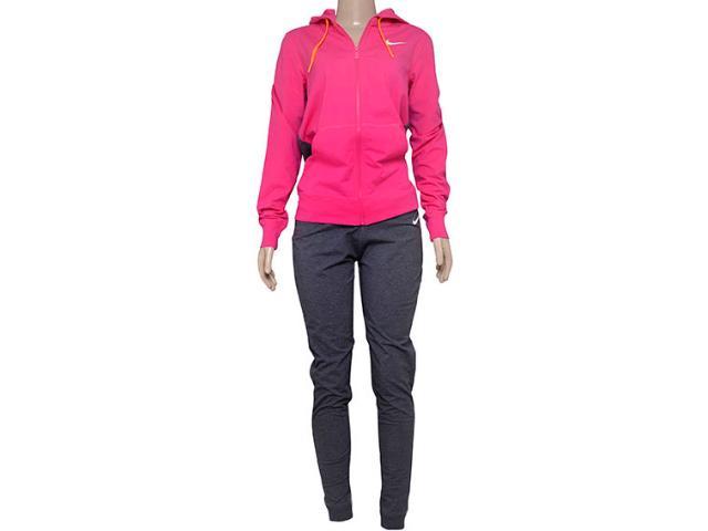 Abrigo Feminino Nike 623417-616 Jersey Cuffed Pink/grafite