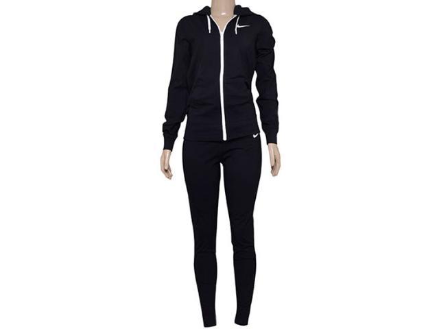 Abrigo Feminino Nike 623417-010 Jersey Cuffed  Preto