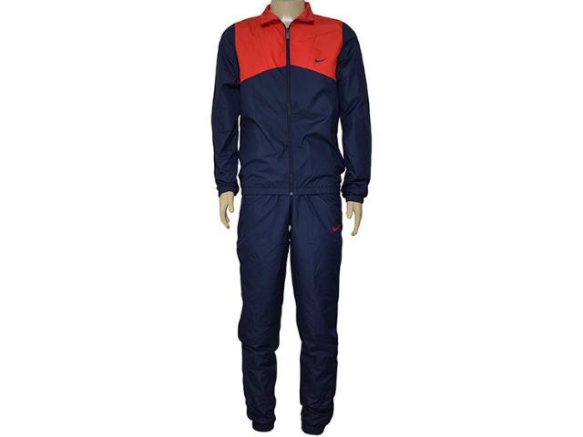 Abrigo Masculino Nike 679699-451 Half Time Woven   Marinho/vermelho