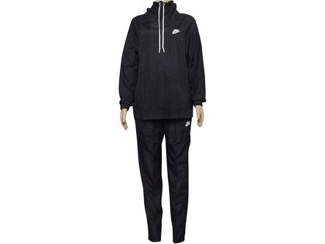 Abrigo Feminino Nike 829723-010 Sportswear Track Preto