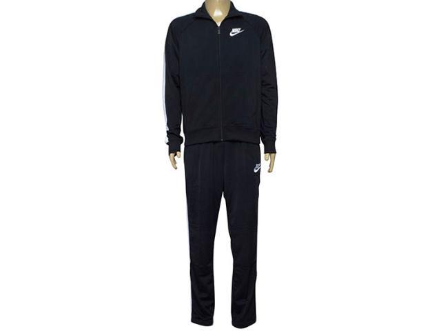 Abrigo Masculino Nike 840643-010 Sportswear Track Suit Preto/branco