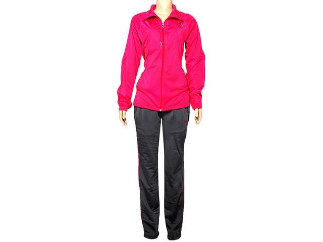 Abrigo Feminino Adidas D89805 Classic Wom Chumbo/pink