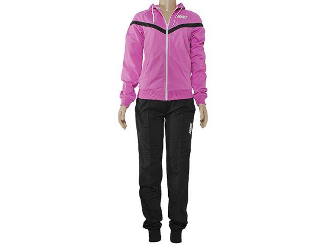 Abrigo Feminino Nike 545786-508 Pursuit Warmup Rosa/chumbo