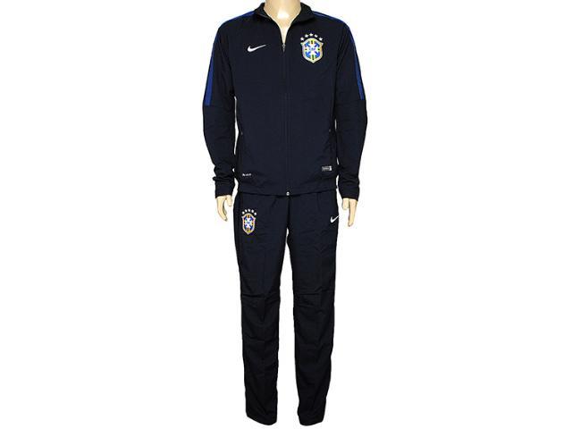 Abrigo Masculino Nike 575699-472 Cbf Squad Sdln  Wvn Wup Marinho