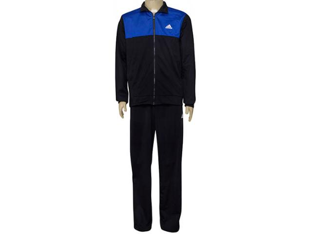 Agasalho Masculino Adidas Bq8362 Back2basics Royal/preto