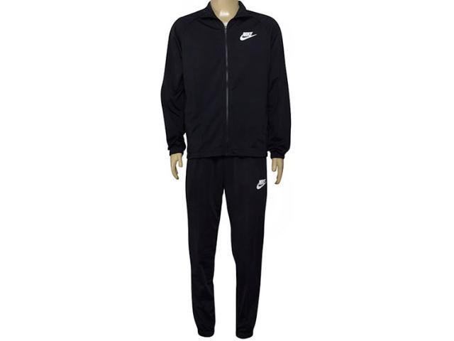 Agasalho Masculino Nike 861780-010 m Nsw Trk Suit pl Preto