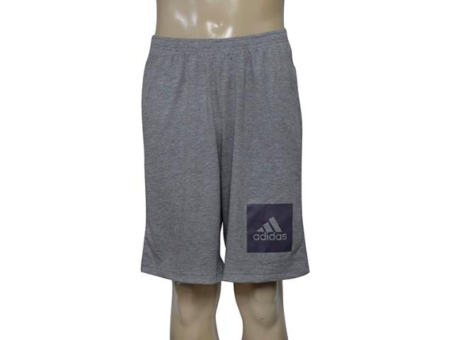 Bermuda Masculina Adidas Bq2355 Short Knit Mescla