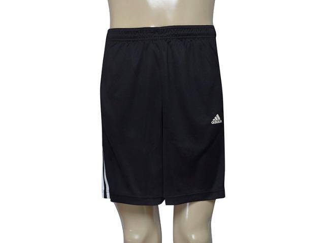 Bermuda Masculina Adidas Ab6421 Base 3s Knit m  Preto