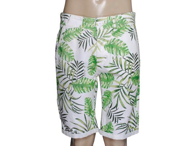 Bermuda Masculina Coca-cola Clothing 33200769 Off White/verde Floral