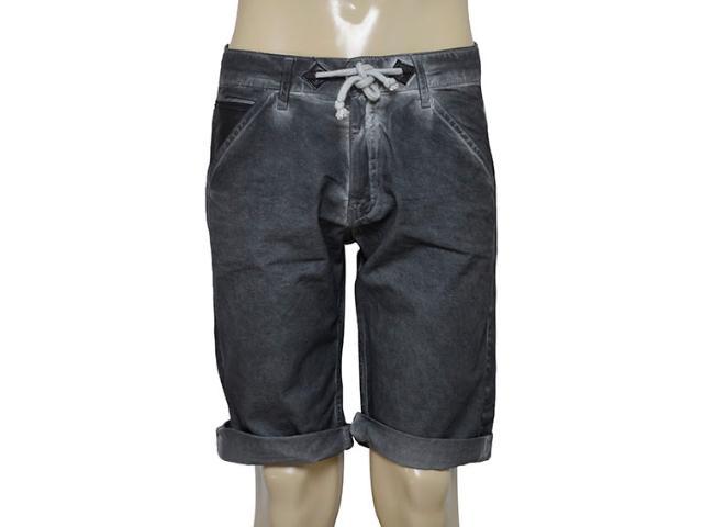 Bermuda Masculina Coca-cola Clothing 33200843 Cinza Estonado