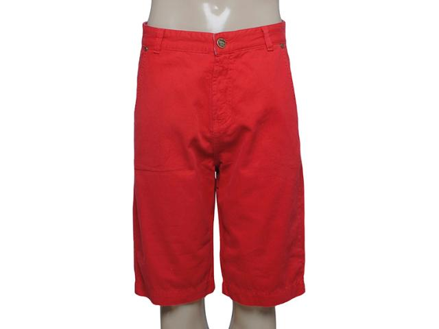 Bermuda Masculina Dopping 013157516 Vermelho