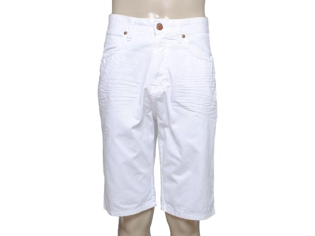 Bermuda Masculina Dopping 013158516 Jeans Branco